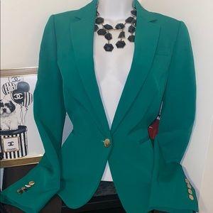 ANNE KLEIN Elegant Green Blazer 6